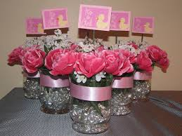 jar centerpieces for baby shower centerpieces for a baby shower for girl decoration ideas 10110