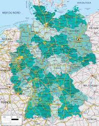 Germany Map Freiburg by Brandenburg Map