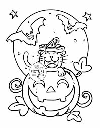 Printable Scary Halloween Coloring Pages by Pages Getcoloringpagescom Halloween Free Printable Scary Halloween