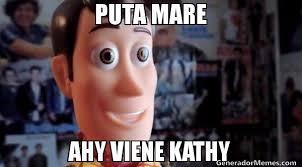 Kathy Meme - puta mare ahy viene kathy meme de ctm andyvfaevedffvarefc