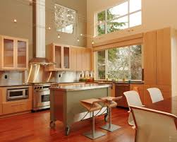 modern eclectic kitchen kitchen eclectic kitchen with movable kitchen island ideas and