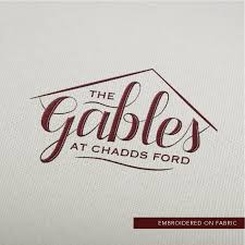 logo ford vector the gables at chadds ford logo design u2014 chrissy eckman design