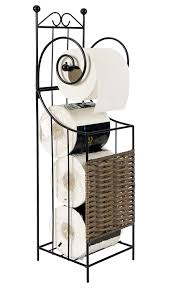 Toilet Paper Holder With Shelf Stand Toilet Paper Holder