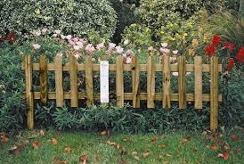 uk garden fencing garden border picket fence home outdoor decoration