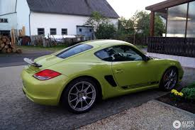 porsche cayman green porsche 987 cayman r 28 september 2016 autogespot