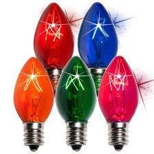 bulk replacement christmas mini light bulbs c7 christmas light bulb c7 twinkle multicolor christmas light