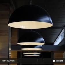 Pendant Light Melbourne Hemi Pendant Light Satelight Dome Shaped Lights Suspended In