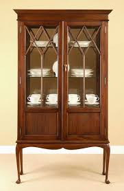 Antique Curio Cabinet With Desk Antique Curio Cabinets Laurel Crown