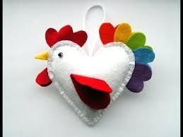 diy felt ornaments crafts how to make a felt rooster ornament