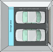 2 Door Garage by Garage Sizes 2 Car U2013 Venidami Us