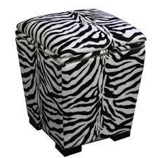 black white upholstery ottoman wayfair