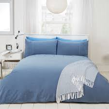 chambray stone wash easy care 200 thread count duvet set julian