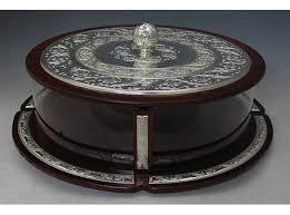 matzah holder wood sterling silver matzah holder