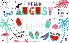 august 2016 wallpaper with calendar printable monthly calendar