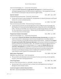 Php Developer Resume Applications Programmer Resume Programmer Resumes Computer