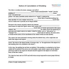 how to cancel a wedding lovetoknow