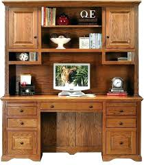 sauder desk with hutch oak computer desk with hutch dailyhunt co
