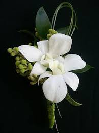 Orchid Boutonniere Proms Boutonneres And Corsage