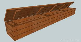 Diy Outdoor Storage Bench Plans by Building A Wooden Deck Over A Concrete One Storage Benches