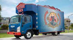truck amazon treasure truck rolls into san diego the san diego union