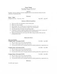 curriculum vitae exle for part time jobs with benefits how to write simple resume for part time job first format an easy