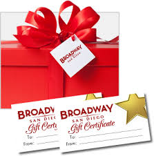 broadway tickets gift card justsingit