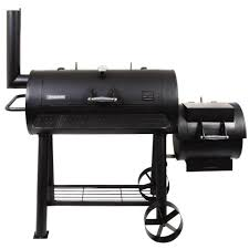 brinkmann trailmaster limited charcoal smoker and grill 855 6305 s