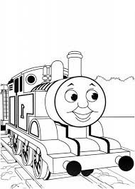 easy printable thomas friends coloring pages