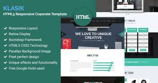 download layout html5 css3 klasik html5 responsive coporate template free download