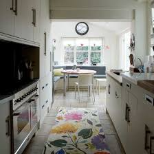 ideas for narrow kitchens two way galley kitchen photos apartment kitchen appliances black