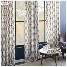 Hemming Tape Curtains The West Elm Look On An Ikea Budget How To Hem Curtains Yourself