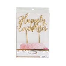 cake topers shop for the sweet sentiments happily after cake topper by