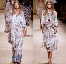 moda boho 70s and boho chic fashion mannequin