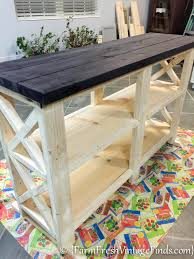 Ana White Truss Coffee Table Diy Projects by Coffee Bar Inspired By Ana White Ana White Woodworking And Coffee