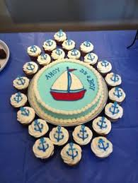 nautical sheet cake nautical baby shower cake mel u0026 hector