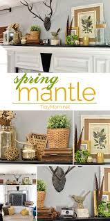 spring mantel decorating mantle decorating and spring