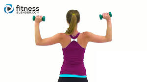 tank top arms workout arms chest back and shoulders fitness