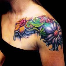 female tattoo gallery shoulder tattoo designs for women badass