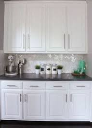 backsplash for kitchen with white cabinet my beautiful kitchen renovation with allen roth shimmering lights