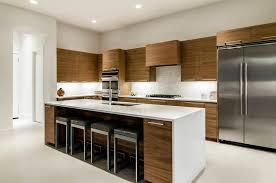 cuisine appartement cuisine bois et blanc dans un appartement en 25 idées