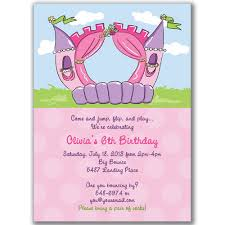 outstanding bounce house invitation wording 4 all