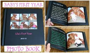 baby s year photo book a special birthday gift for your