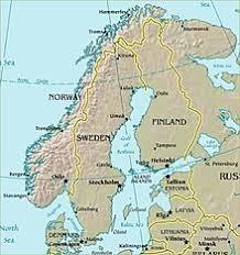 europe peninsulas map scandinavian peninsula