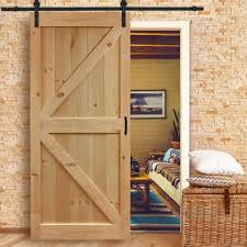 Reclaimed Wood Interior Doors Reclaimed Wood Barn Door Wayfair