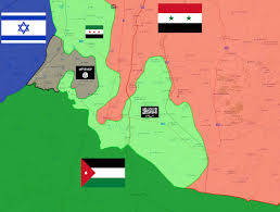 Syria Map by Isis Snatches Swaths Of Land From Rebels In Southern Syria Map