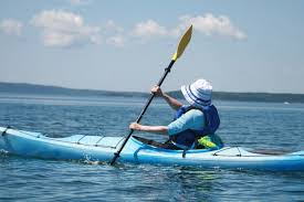 kayaking in tune with your body