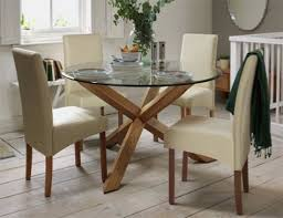 Round Glass Table And Chairs Glass Dining Tables Our Pick Of The Best Ideal Home