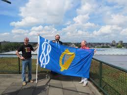 Flag Of Dublin Ireland Vexillology Ireland Brateolaíocht éireann Promoting An