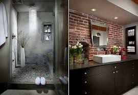 Industrial Style Bathroom Bathroom 2017 Industrial Style Bathrooms Vanity With Double Sink