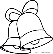 christmas bells christmas color holiday coloring pages